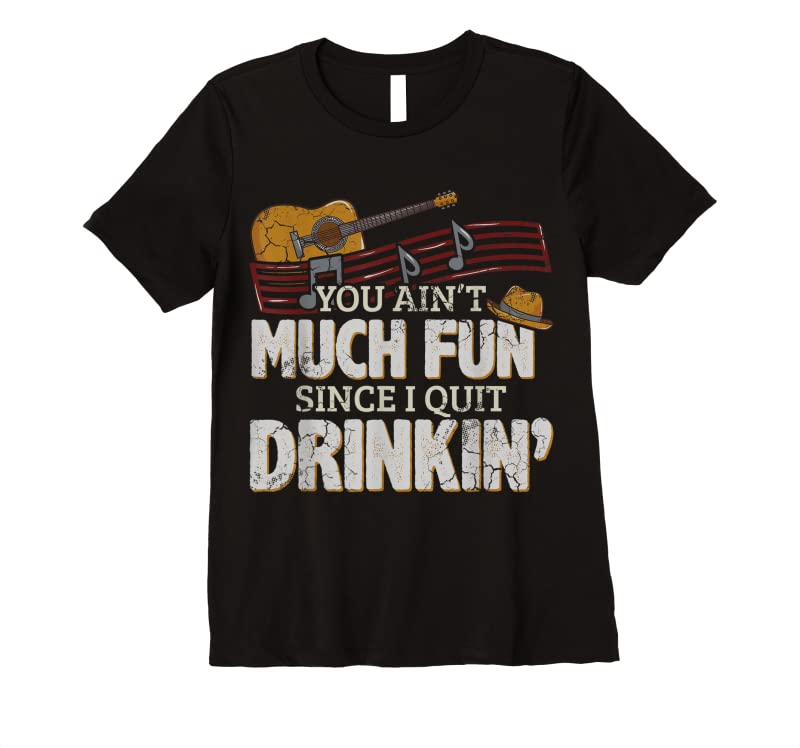 Trends Lyriclyfe You Ain't Much Fun By Toby Keith T Shirts