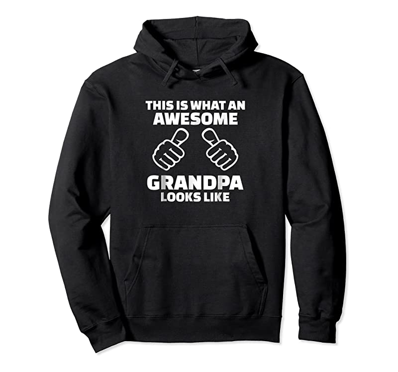 Trends Mens This Is What An Awesome Grandpa Looks Like T Shirts