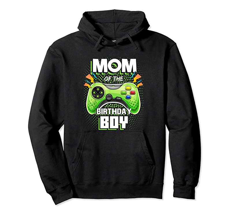 Trends Mom Of The Birthday Boy Matching Video Gamer Birthday Party T Shirts