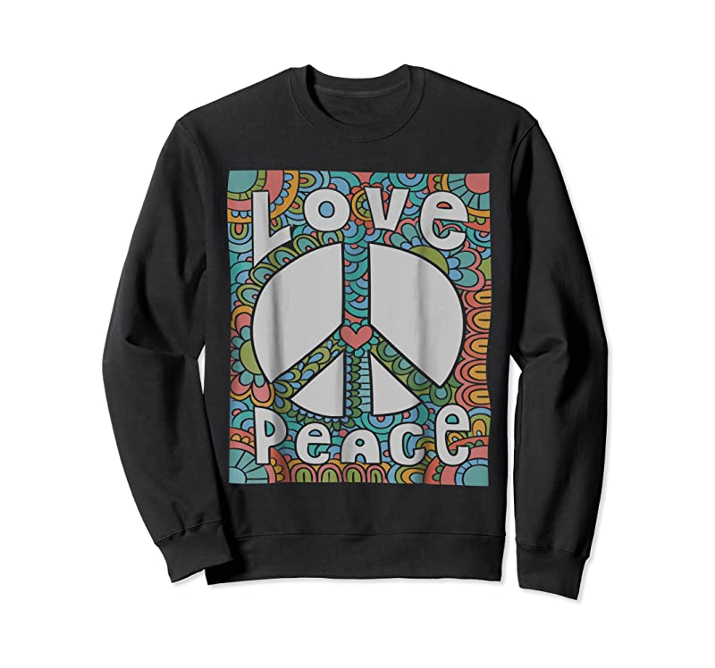 Trends Peace Sign Love 60s 70s Tie Die Hippie Costume T Shirts