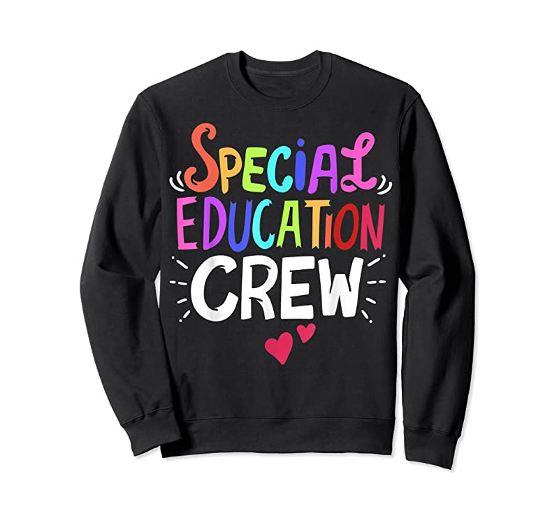 Trends Sped Teacher Special Education Crew T Shirts