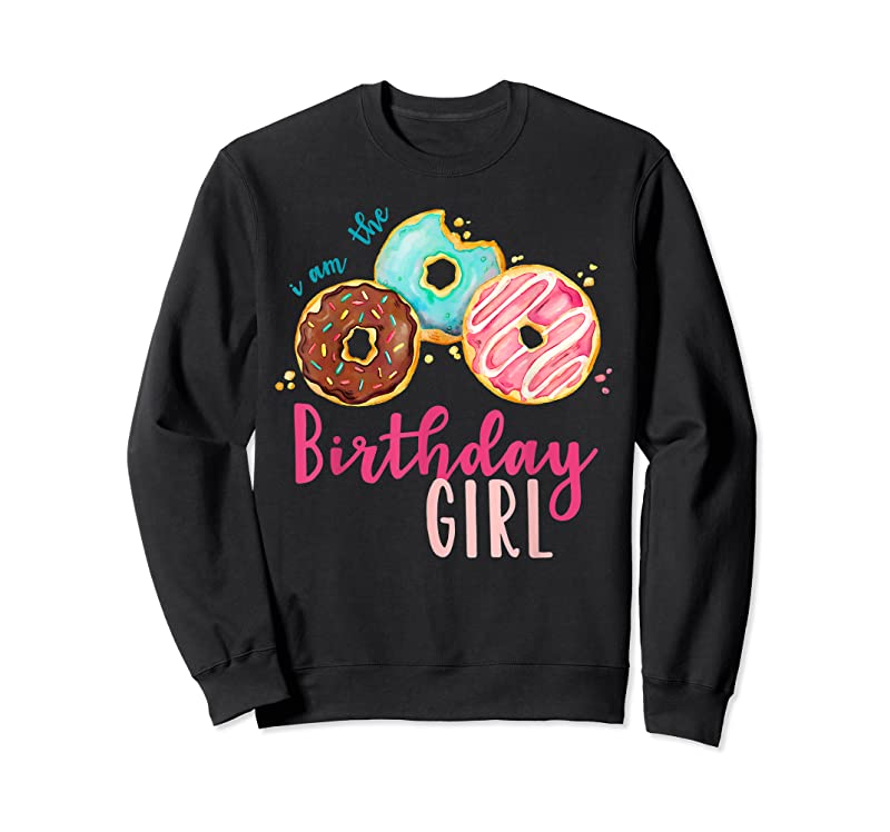 Trends The Birthday Girl Donut Birthday Party Theme Family T Shirts