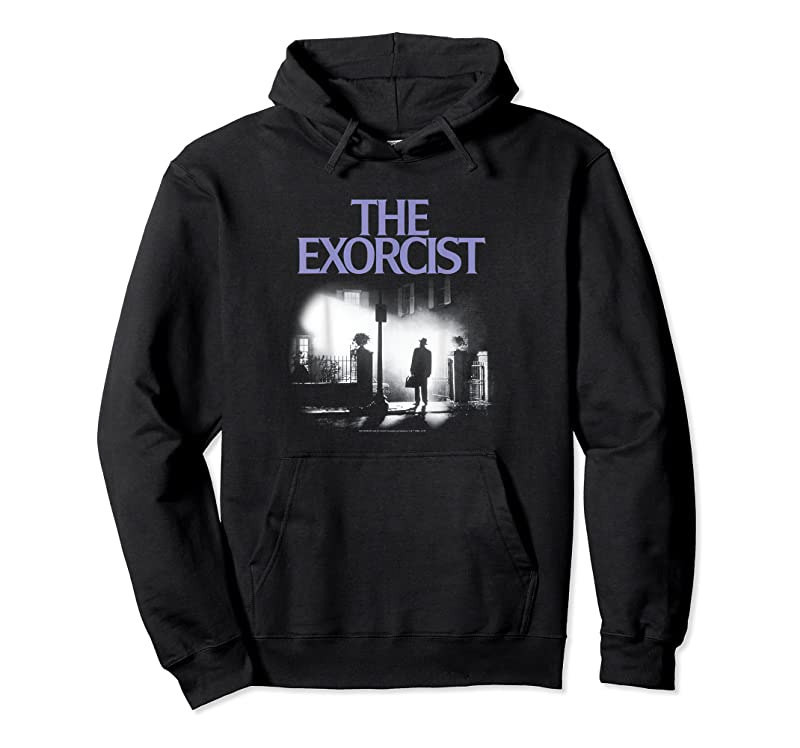 Trends The Exorcist Purple Logo Poster T Shirts