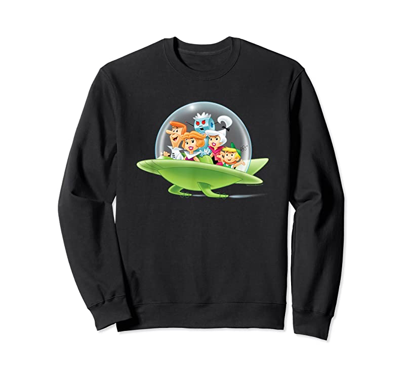 Trends The Jetsons Family Cruising T Shirts