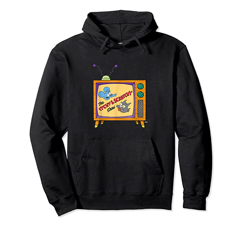 Trends The Simpsons The Itchy Amp; Scratchy Show Logo T Shirts