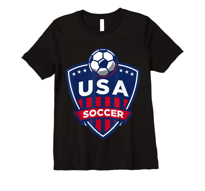 Trends Usa Soccer Team Support The Team Usa Flag Football T Shirts