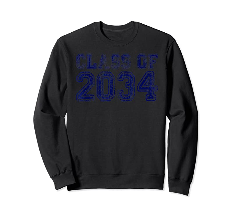 Unisex Class Of 2034 Grow With Me Graduation Year T Shirts