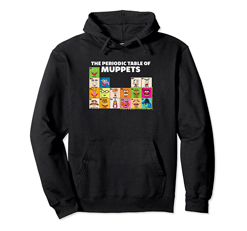 Unisex Disney The Muppets Periodic Table Of The Muppets T Shirts