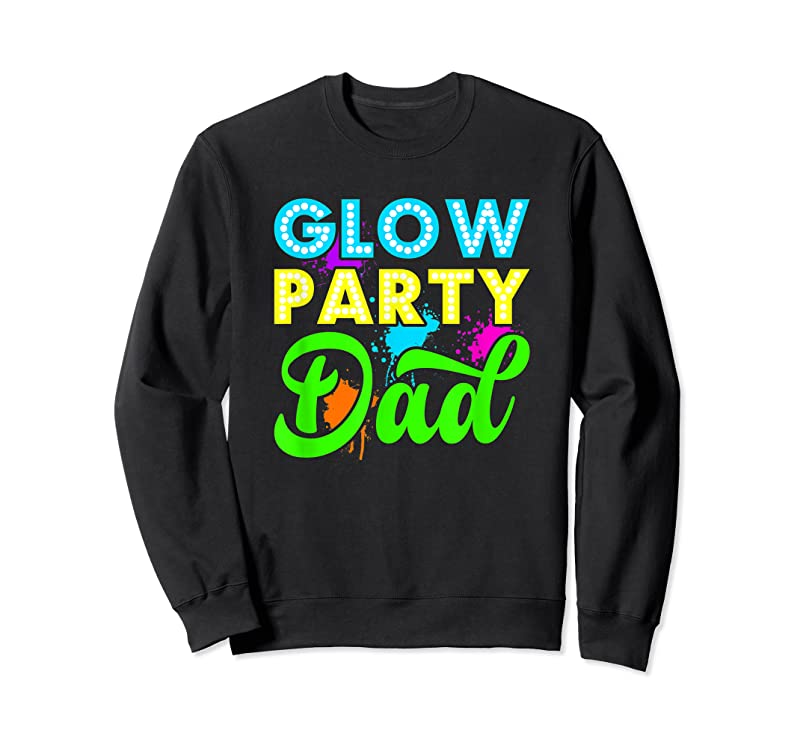 Unisex Glow Party Clothing Glow Party Glow Party Dad T Shirts