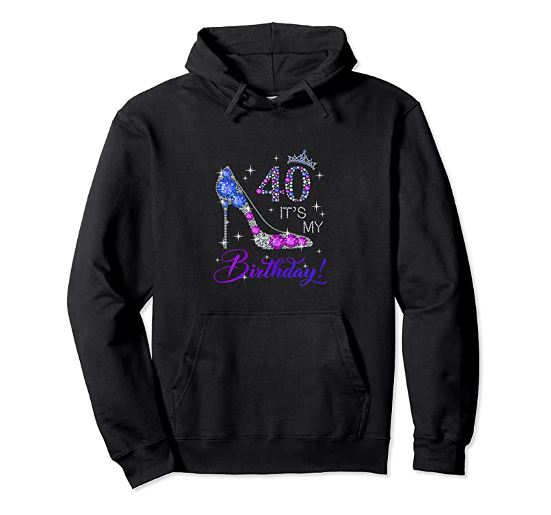 Unisex Womens 40 Years Old It's My Birthday Gift For Women 40th Birthday T Shirts